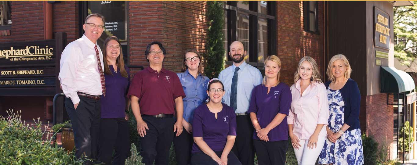 Shephard chiropractic clinic staff